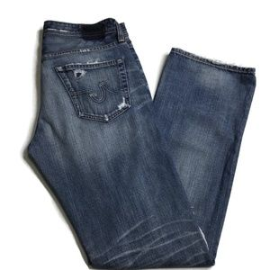 Adriano Goldschmied Protege Distressed Jeans W32